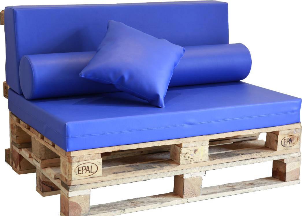 Sof palet europeo polipiel n utico for Tela sofa exterior